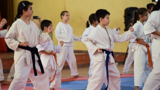 Exitoso encuentro de karate en Itaembé Miní