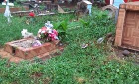 """Denuncia que el Cementerio La Piedad """"es un monte"""""""