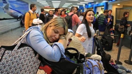 Más de 20 vuelos cancelados y unos 1.500 pasajeros afectados