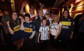 Madrid: la Superfinal se vivió entre hinchas de Boca y River