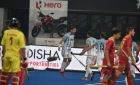 Hockey: Argentina venció a España en el debut mundialista