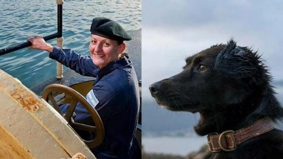 ARA San Juan: Murió Comando, el perro que esperaba a Eliana Krawczyk