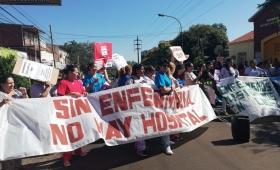 Enfermeros celebran su día con lucha y movilización
