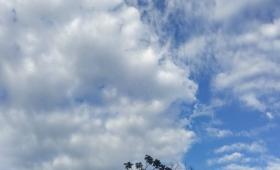 Pronóstico del tiempo: chaparrones y temperaturas elevadas