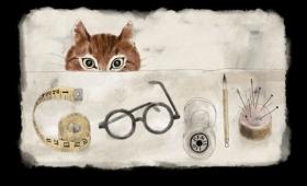 Doodle: Léonard Tsuguharu Foujita, el pintor japonés amante de los gatos