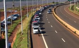 Movimiento casi nulo en el Puente Internacional