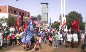 Importante marcha contra el G20 en Posadas