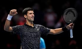 Djokovic, primer clasificado a las semis del Master de Londres