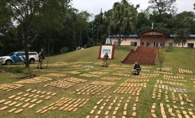Prefectura interceptó cargamento de 1800 kilos de marihuana