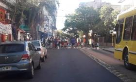 Tareferos cortaron calles céntricas