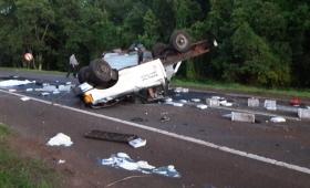 Un muerto y dos heridos en la Ruta 12