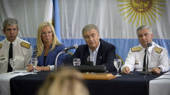 """ARA San Juan: para Aguad, """"se está cerca de conocer la verdad"""""""