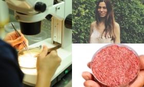 Una argentina lidera el proyecto para producir carne sin matar seres vivos
