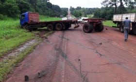 Choque fatal sobre Ruta 17