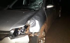 Joven falleció al ser embestido por un auto en Ruta 14