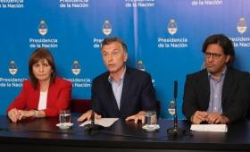 Macri anunció que buscarán endurecer las penas contra los barras
