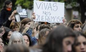 Las mujeres salen a las calles posadeñas contra la violencia de género