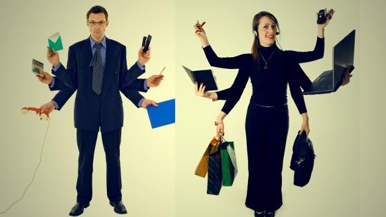No, ser multitarea no es un sinónimo de eficiencia