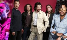 Arctic Monkeys y Lenny Kravitz, atracciones del Lollapalooza 2019