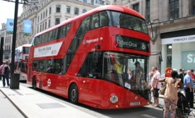 Londres sin comida chatarra en transportes