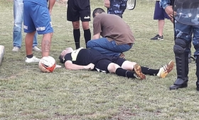 El árbitro golpeado denunció penalmente al jugador