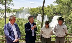 Macri en Iguazú destacó al turismo para crear empleo