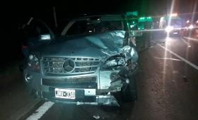 María Losada involucrada en violento accidente