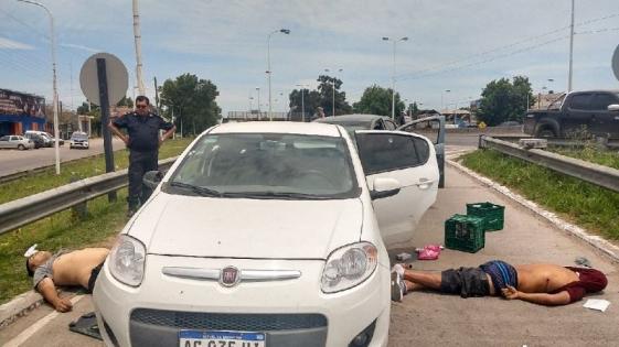 Ladrones muertos tras robar un supermercado