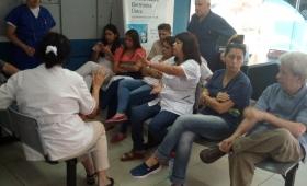 Asamblea de trabajadores del laboratorio del IPS