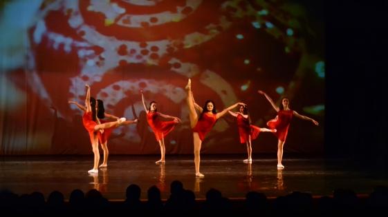 Concierto coreográfico anual de la Academia de Ballet de Moscú