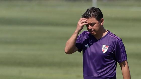 Gallardo tiene en mente el equipo para enfrentar a Palestino