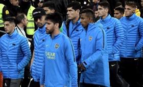 Boca llegó al país tras perder la final de la Libertadores
