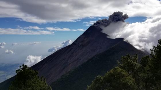 Increíble video de la erupción del Volcán de Fuego