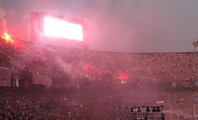 River celebró con sus hinchas la Copa Libertadores