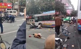 Al menos 5 muertos en atropello múltiple en China