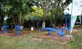 EBY inaugura un parque recreativo en el Barrio Yohasá