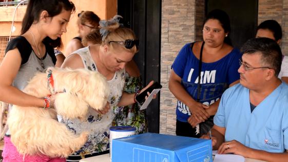 El Imusa vacunó a 12.096 mascotas este año