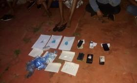 La Policía desbarató otro «Kiosco» de cocaína y hay cinco detenidos