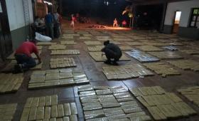 Secuestraron más de dos toneladas de marihuana en Esperanza