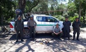 Control de caza en el Parque Nacional El Impenetrable