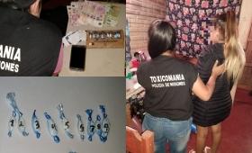 Una joven de 18 años detenida por narco-delivery