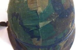 Veterano de Malvinas recuperaría su casco perdido en la Guerra