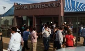 Continúa el reclamo de Trabajadores de Seguridad de Montecarlo