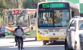 Chaco: el transporte recibirá subsidio de $1.3 millones