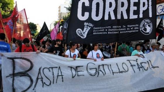 """Correpi: con el nuevo reglamento """"el gatillo fácil es ley"""""""
