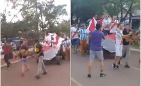 El Soberbio: hinchas de Boca empujaron el carro del River campeón