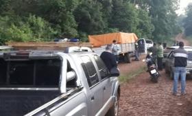Descubrieron un camión con 4 mil kilos de marihuana