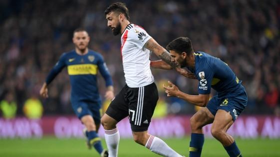 River y Boca empatan 1-1 la Superfinal de la Libertadores