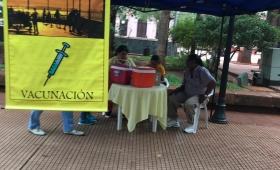 Campaña de vacunación contra la Fiebre Amarilla