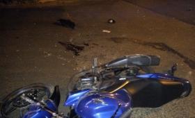 Motociclista muerto y varios heridos en un choque
